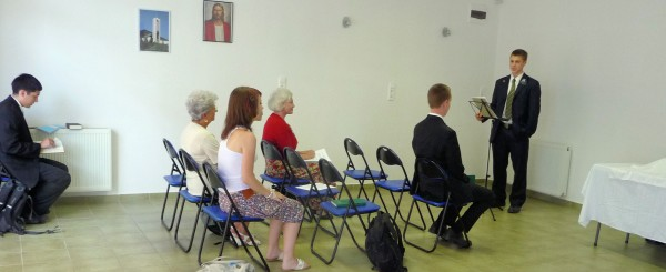 Baileys Speaking in Nagykanizsa
