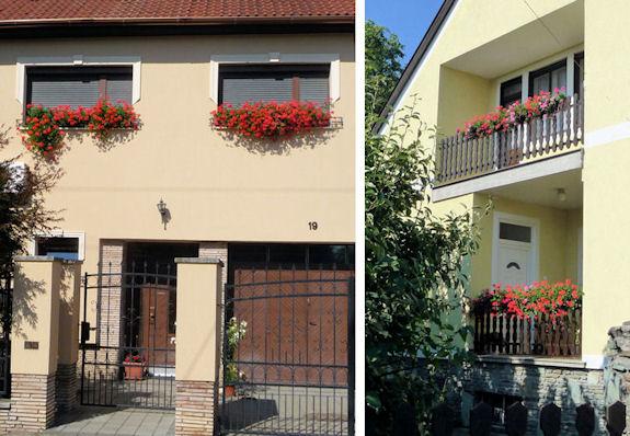 Window Boxes in Szombathely