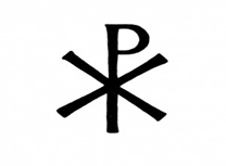 Chi-Rho Image - First Christian Symbol