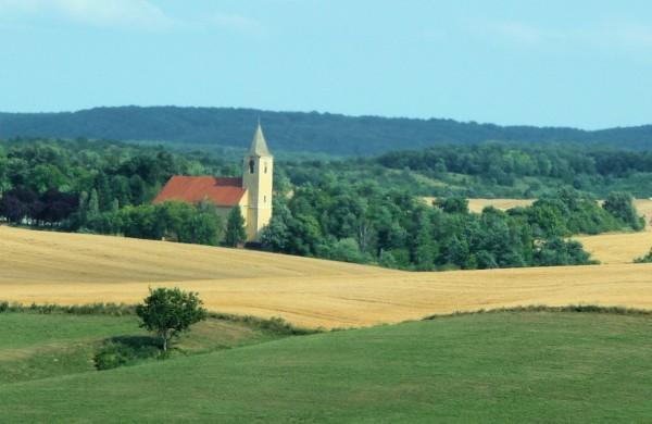 Fields Surrounding the Church