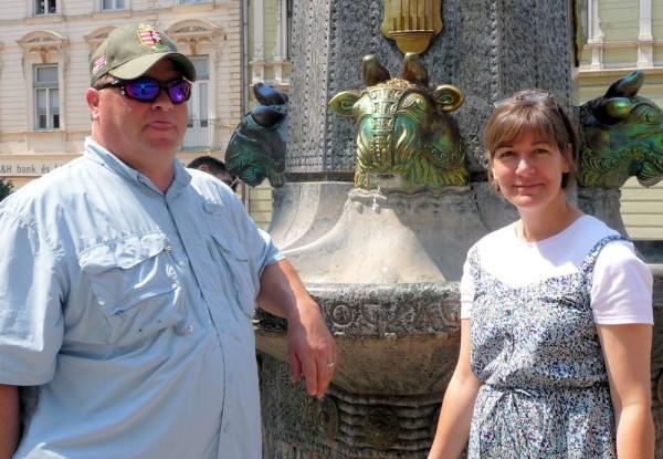 Church Fountain in Pecs