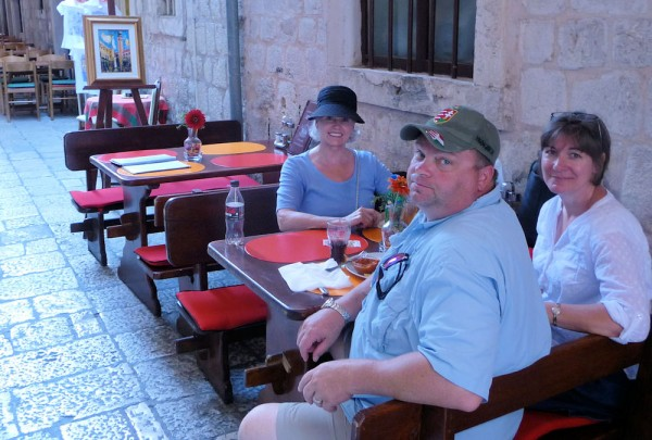 Dubrovnik - Having a Snack