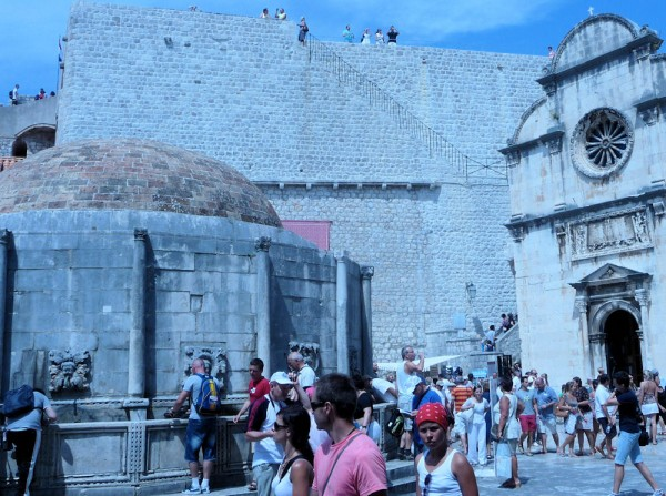 Dubrovnik - Very High Wall