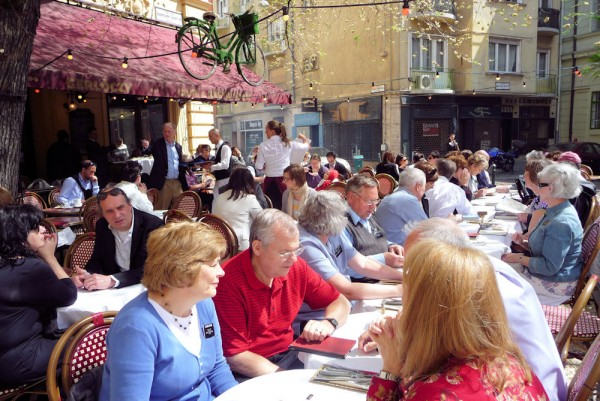 Eating Out on the Streets in Budapest