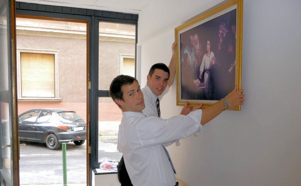 The Picture on the Wall