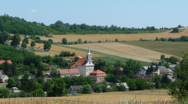 Wheat Fields near the Villages
