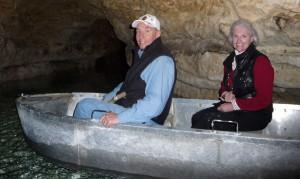 Bob and Brenda in the Boat