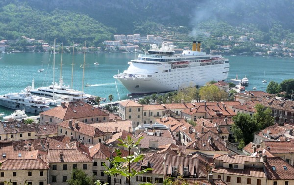 Kotor Montenegro - Our Ship
