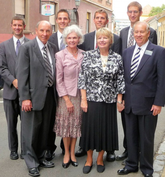 Missionaries in Pecs - July2012