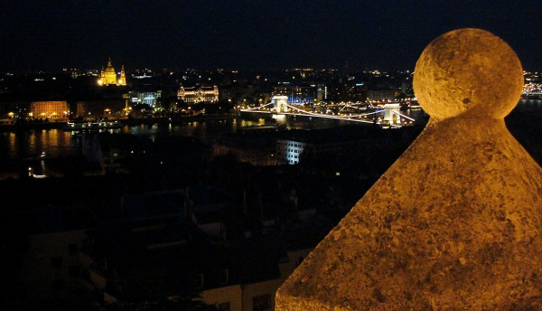 Night View from Castle Hill