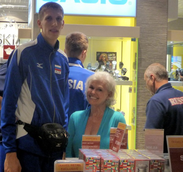 Russian Basketball Player and Brenda