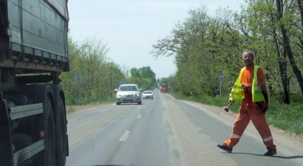 Traffic Control Person